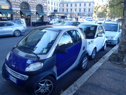 so many Smartcars