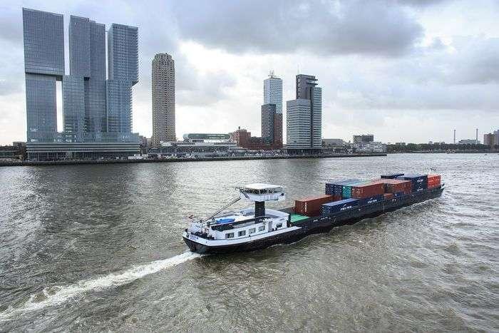 Hafen Rotterdam: EU-Fördermittel für Wasserstoff-Binnenschifffahrt