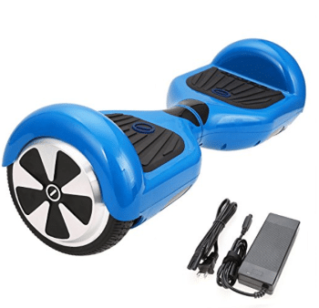 "SURFUS 6.5"" Waterproof Hoverboard with Buffing Shell UL 2272 Certified Self-Balancing Scooter"