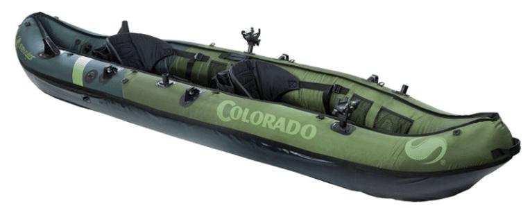 Best Fishing Inflatable Kayak - Sevylor Coleman Colorado