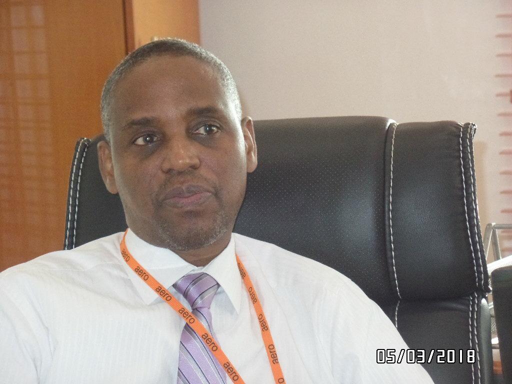 The Managing Director of Aero Contractors, Capt. Ado Sanusi.