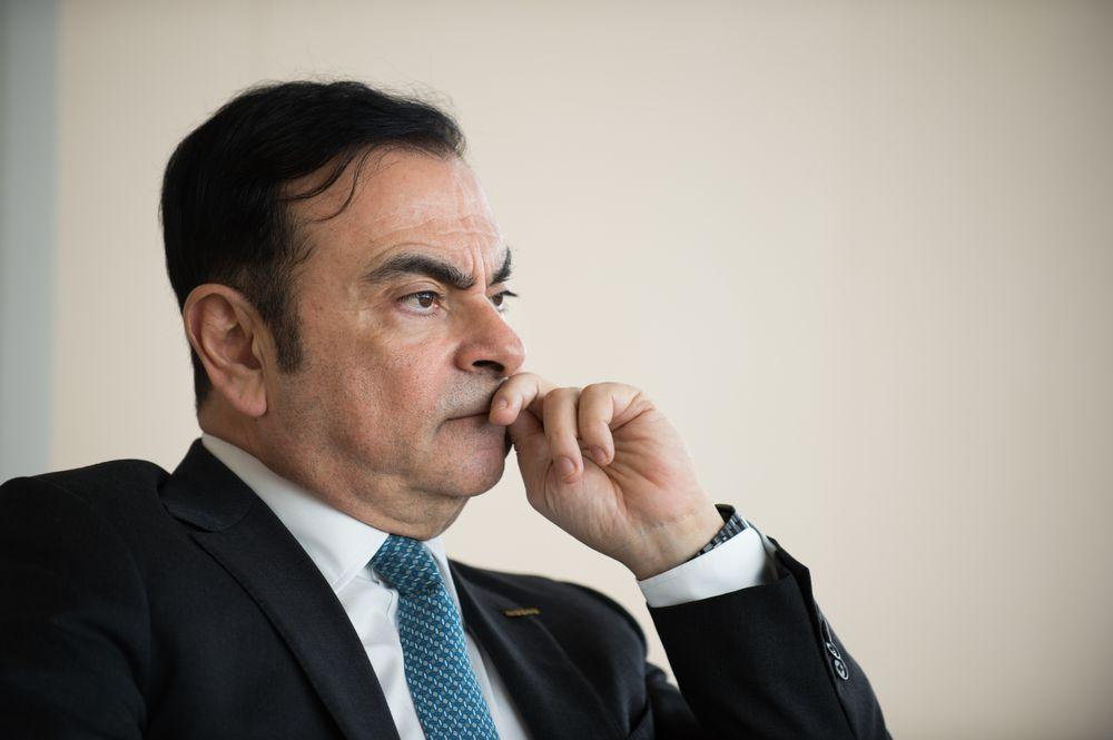 Ex CEO Nissan; Carlos Ghosn