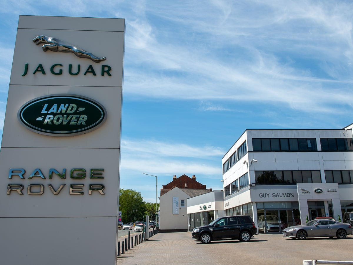 Jaguar Land Rover Showroom.