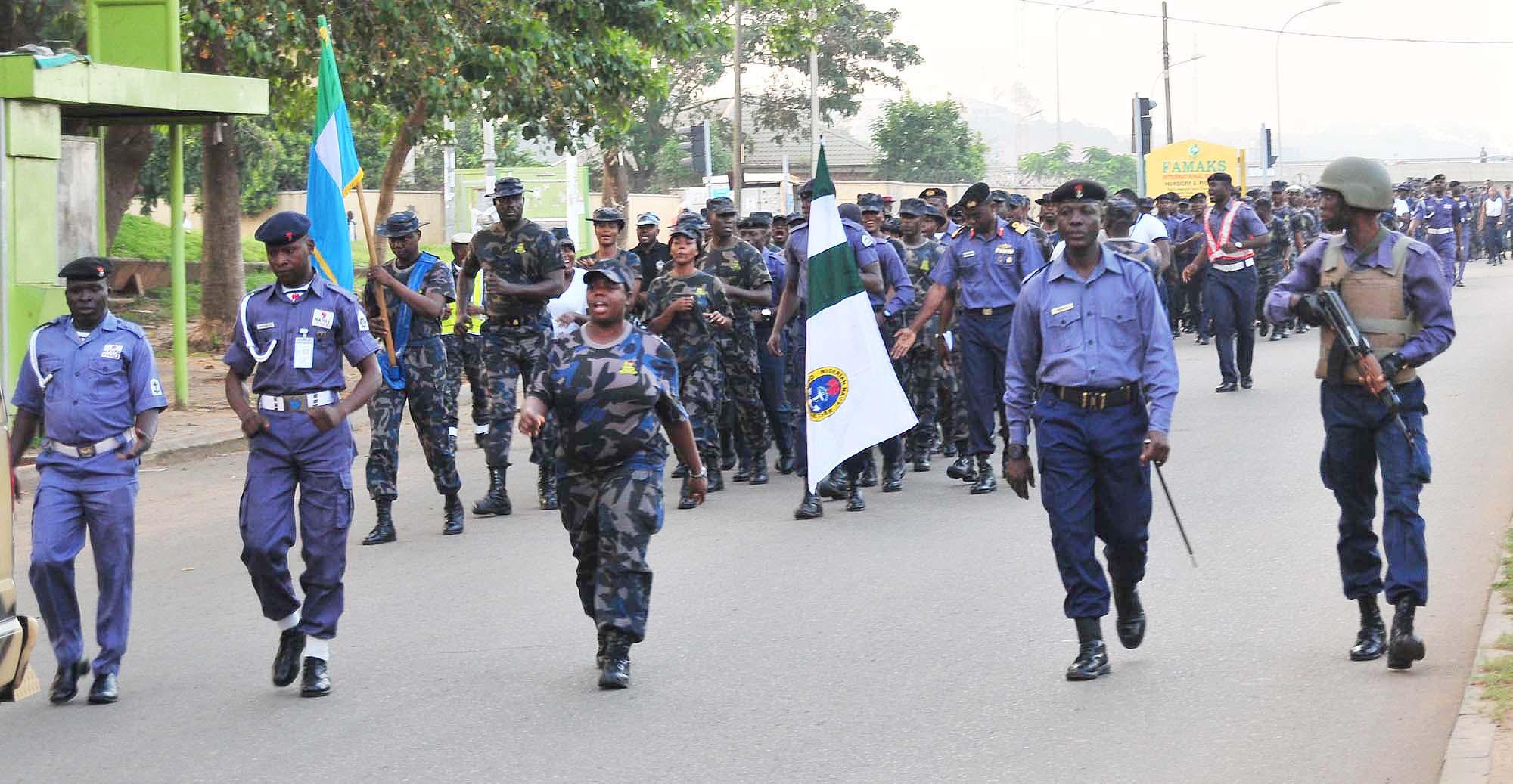 The Nigerian Navy.