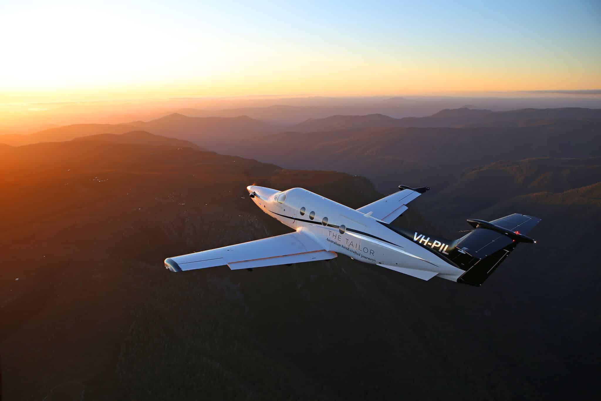 Chartered Flight.