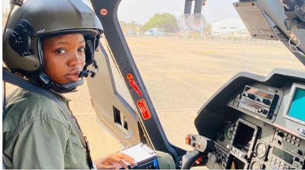NAF first female pilot, Tolulope Arotile, dies in car accident