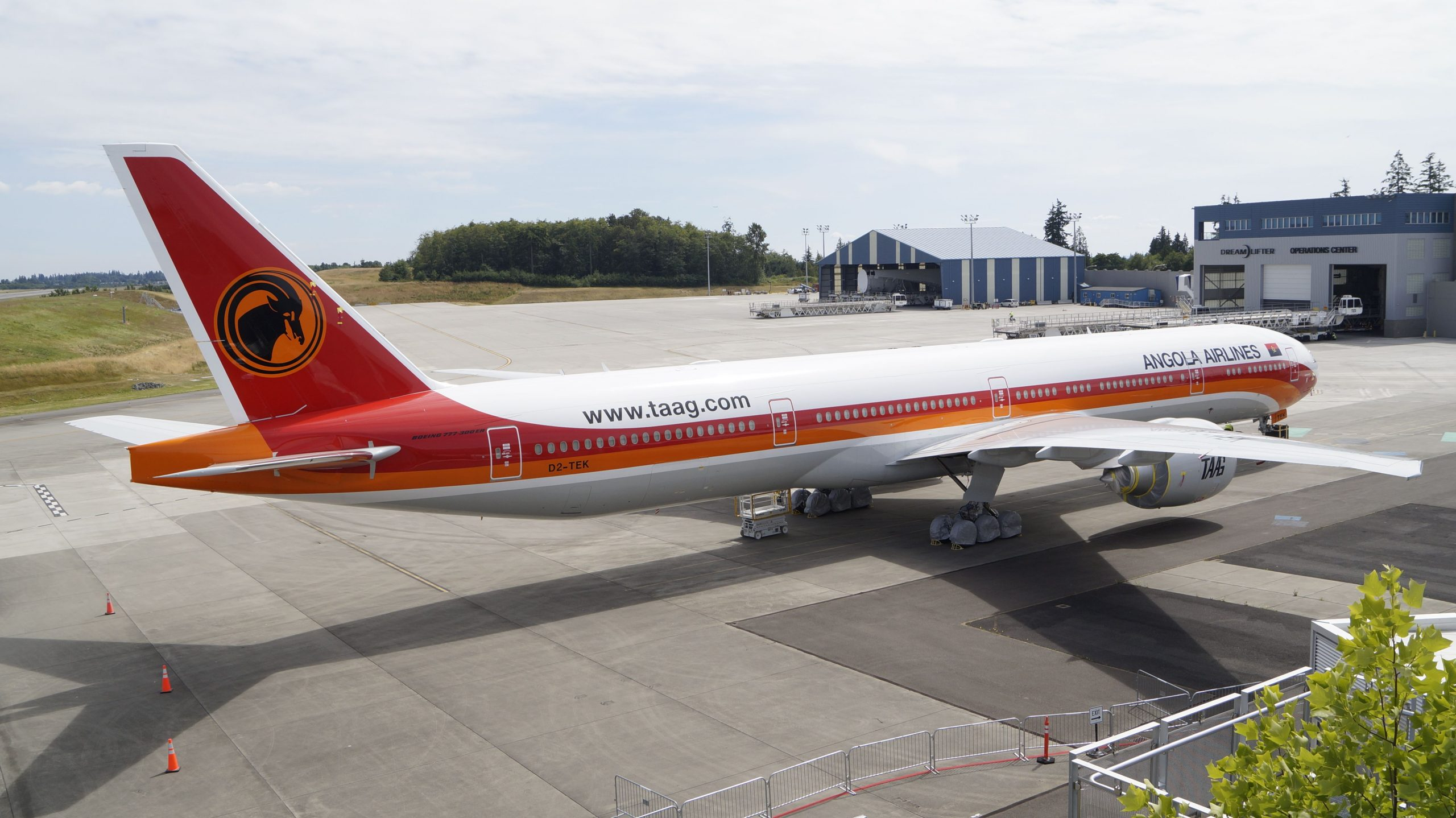 FG impounds Angola Airlines plane in MMIA, Lagos