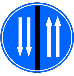 4-LANE 2-WAY DIVIDED HIGHWAY