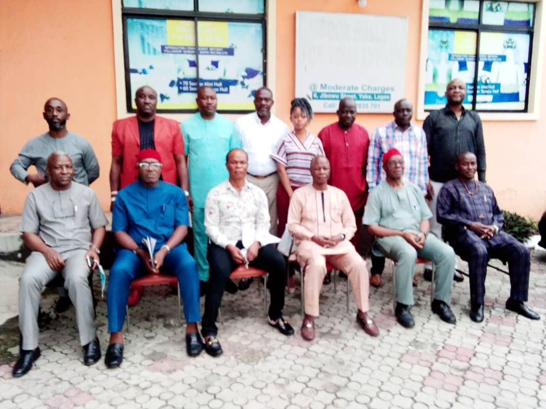 Trustees and National Governing Council members of PTONA meeting held in Lagos recently