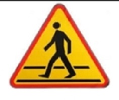 Pedestrian crossing