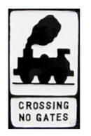 Railway Level Crossing without Gate