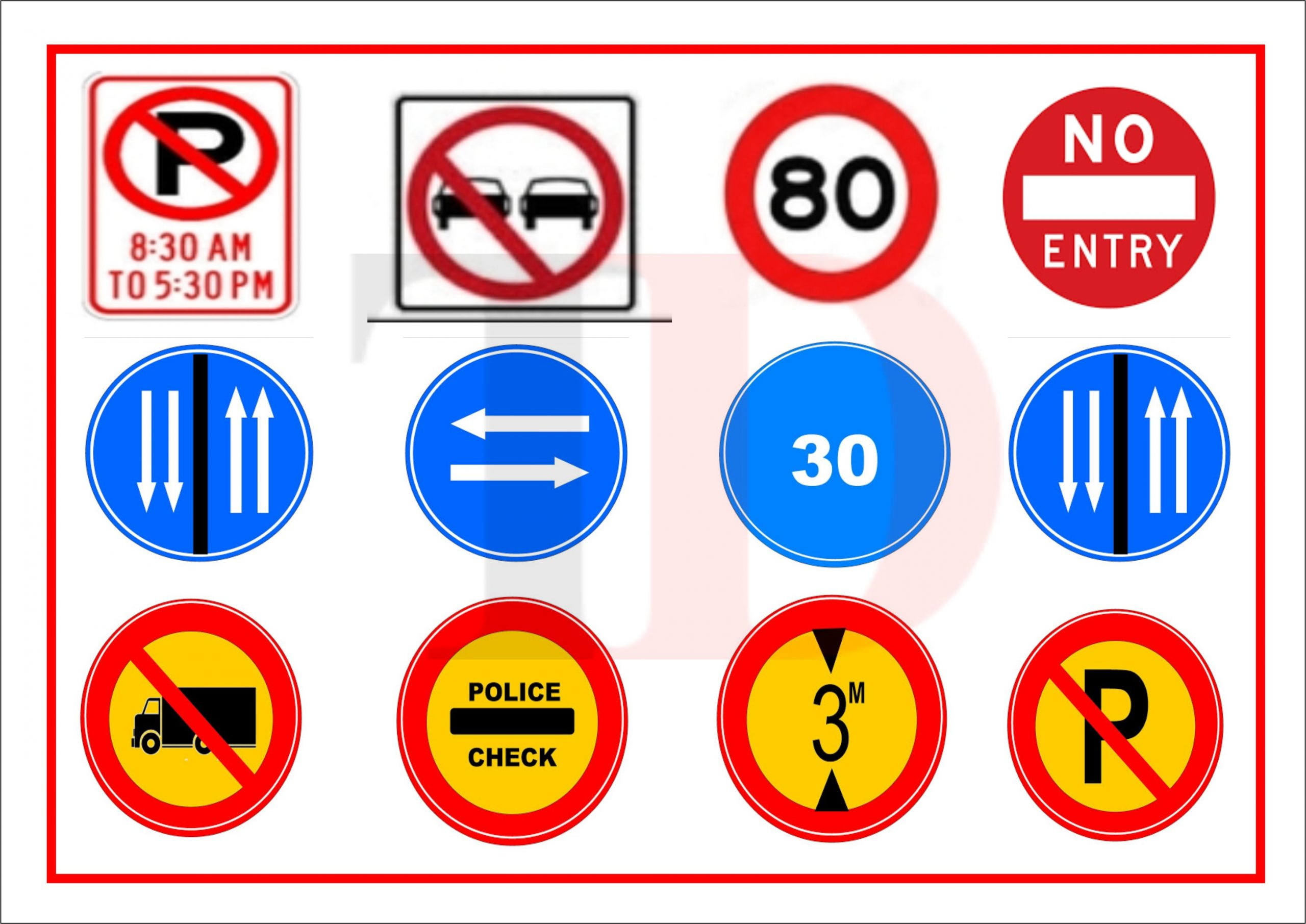 Comprehensive Guide on Road Signs in Nigeria