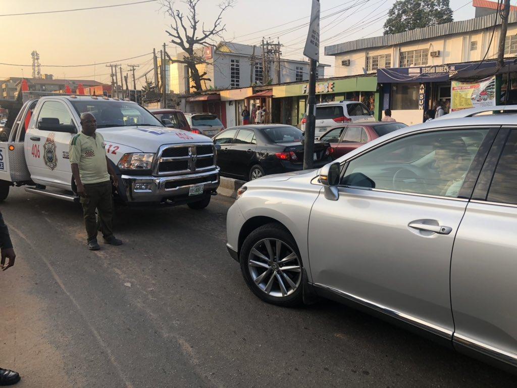 Lagos cautions motorists against driving against traffic