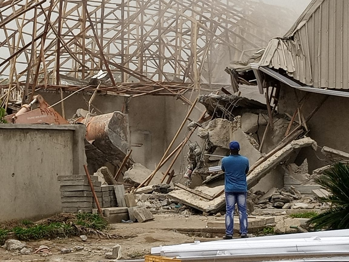 FCTA demolishes structures