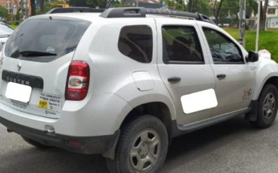 Renault Duster Mt Servicio Público Operación Nacional
