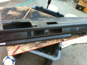 Vanagon dash refinishing with SEM