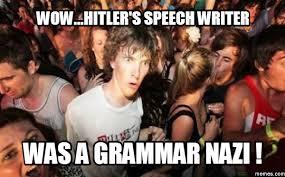 grammar nazi meme