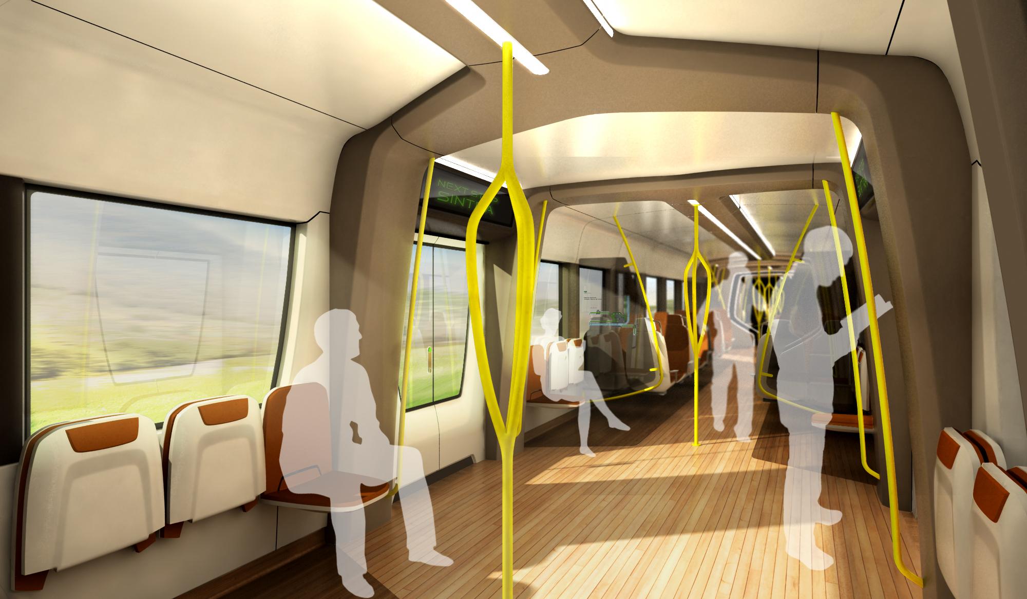 inTRAIN ou lavenir du design intrieur des trains  Forbo Flooring Transport