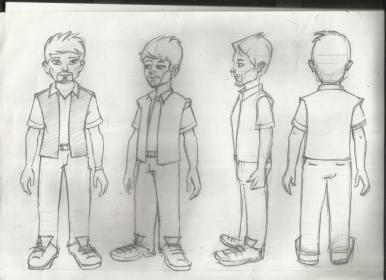 The Redemption-Character design