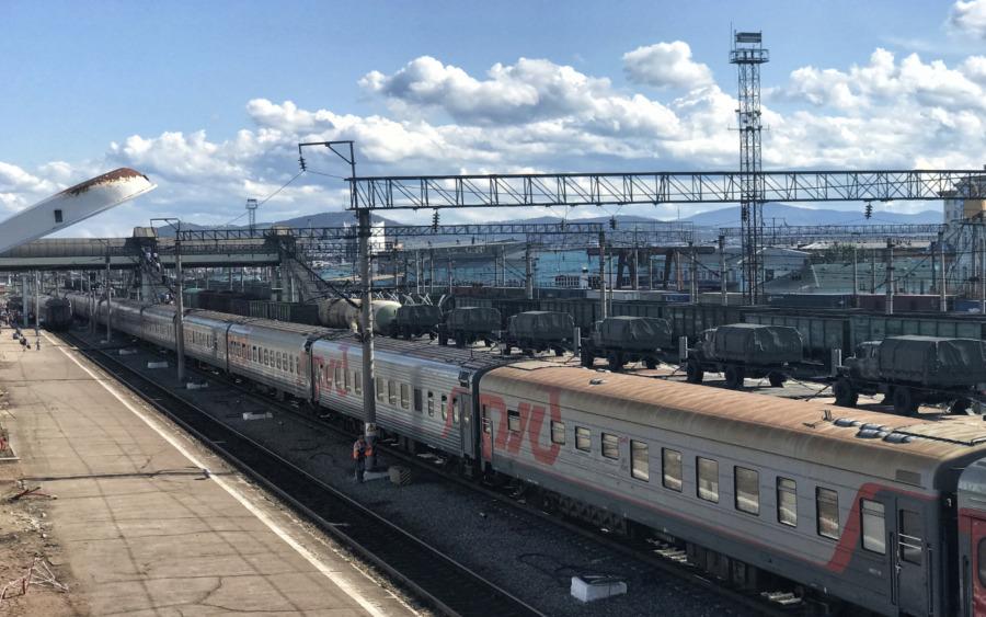 Bahnhof im russischen Fernen Osten