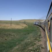 Transsibirische Eisenbahn Moskau - Peking
