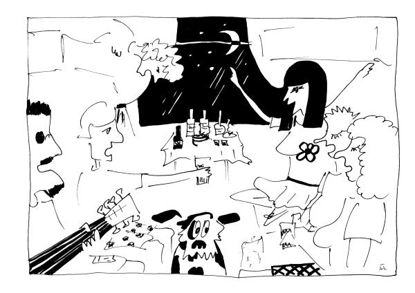 Transsib Postkarte Nr. 7 - Illustration von Aleksandra Twardowska