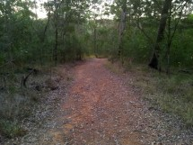Gravel Running Trails