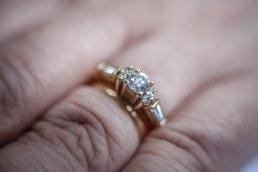 Sydney Wedding ring of bride