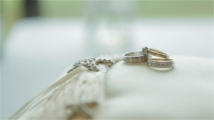 Sydney wedding couple's new wedding rings