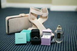 Sydney Wedding Photographer capturing the bride's accessories