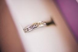 bride's wedding ring closeup shot-2