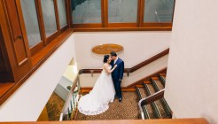 beautiful bride and groom wedding grand pittwater ryde
