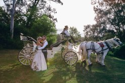 magical cinderella princess wedding in australia