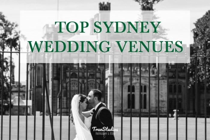 Top Sydney Wedding Venues