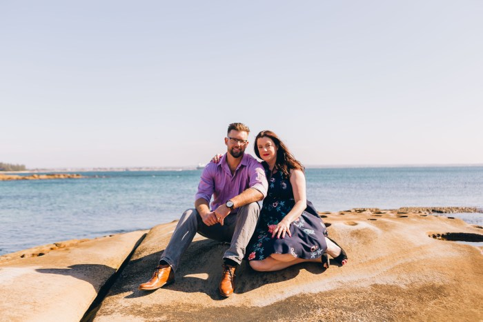Gemma & James's Engagement Session at La Perouse Sydney