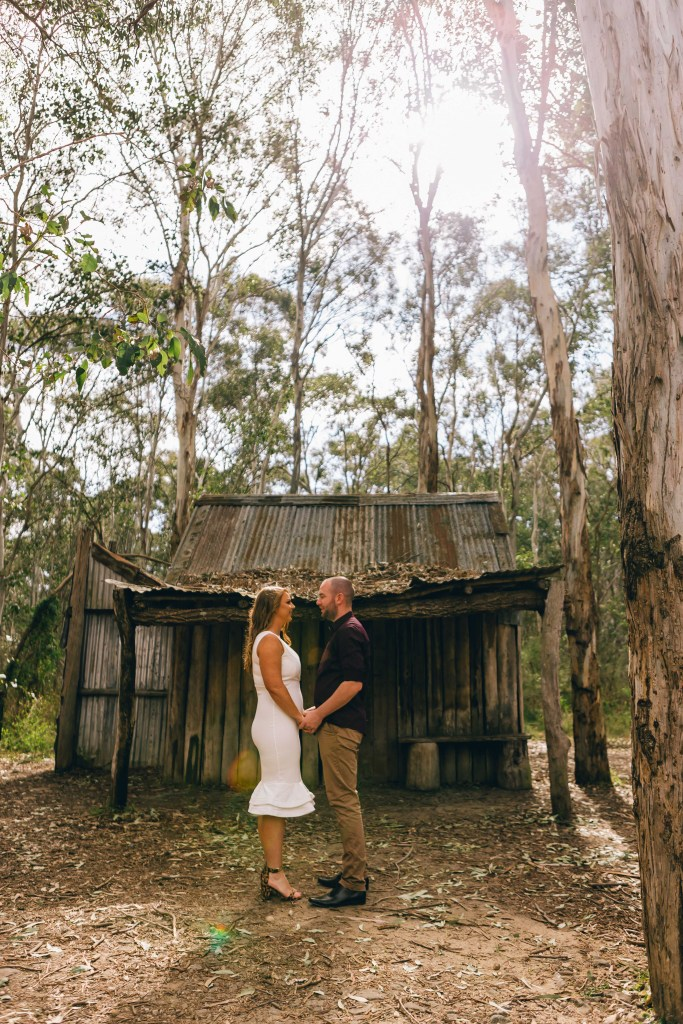 Megan & Patrick's Engagement Session at Nurragingy Reserve Sydney