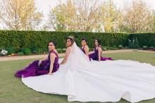 Beautiful bridesmaids and bride at Bicentennial Park Homebush Sydney_04