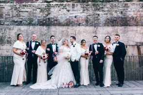 Croatian Bridal Party at Paddington Reservoir_01