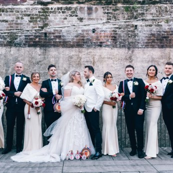 Croatian Bridal Party at Paddington Reservoir_01