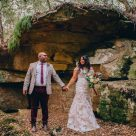 Bride and Groom at Wildwood Kangaroo Valley Wedding Venue_01