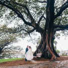 mrs macquarie's chair wedding photography_01