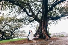 mrs macquarie's chair wedding photography_01