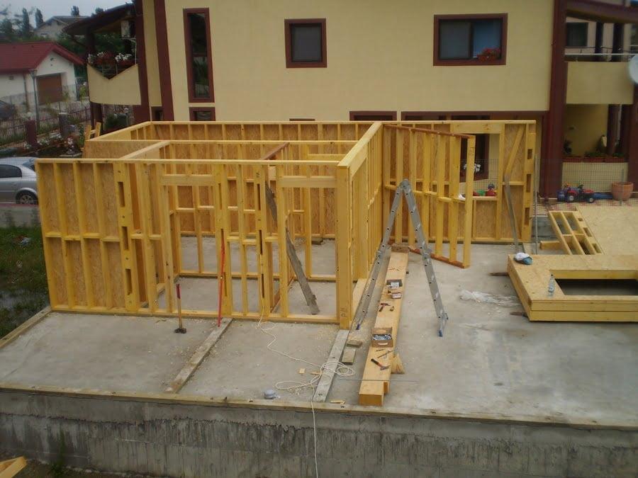 Informatii structura casa din lemn