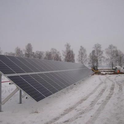 Saulės elektrinė Akmenės rajone