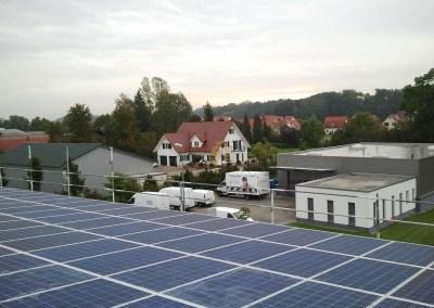 180 kW saulės elektrinė Leipheime, Vokietija