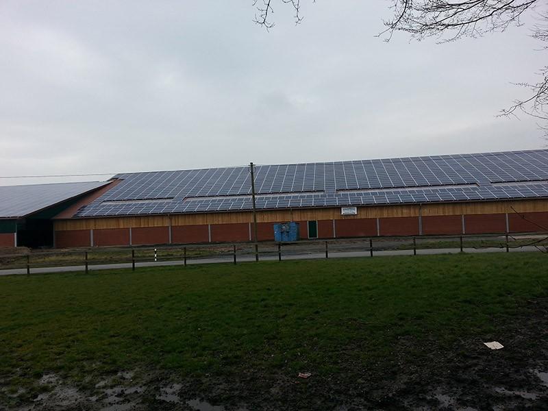 361 kW Saulės elektrinė Miunsteryje