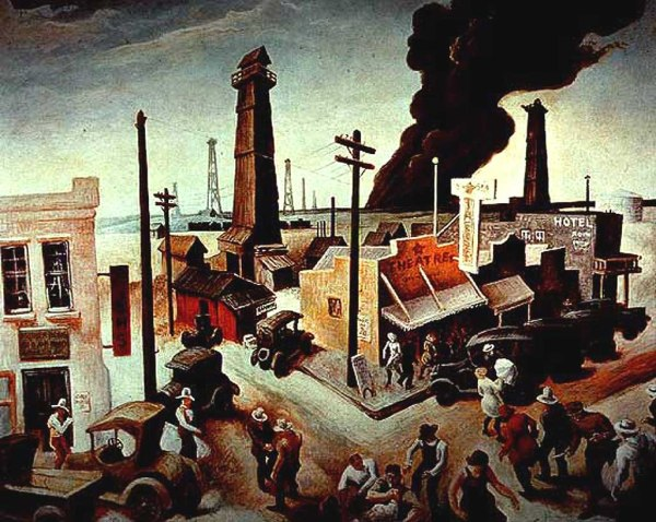 Great Depression Arts Paintings