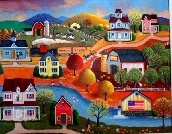 American Folk Art Artists