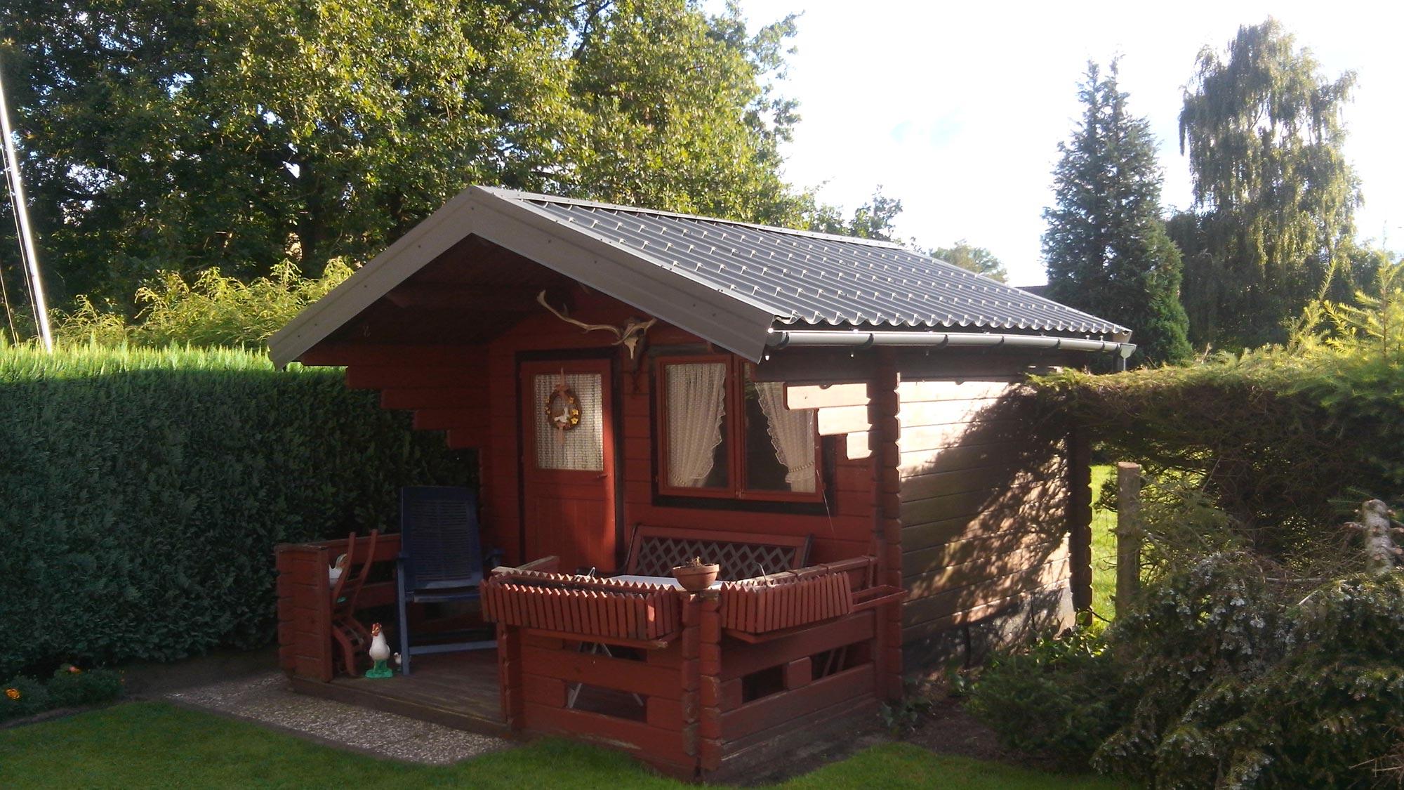 Fabulous Trapezblech Gonschior. Fabulous Holz Blech Gartenhaus Montana Xcm AG85