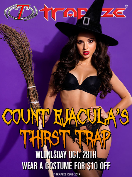 Count Ejacula's Thirst Trap at Trapeze Swingers Club Atlanta
